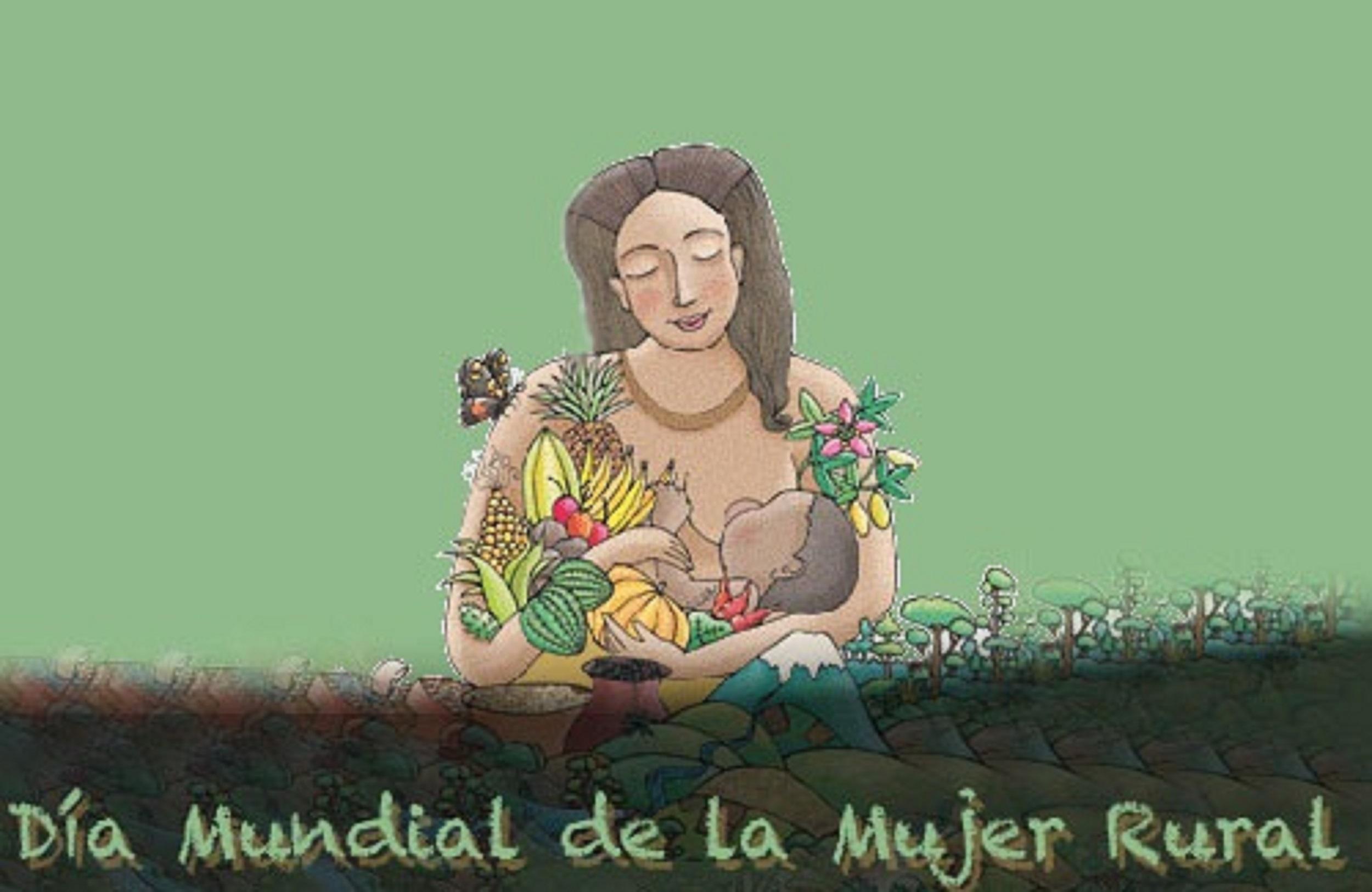 Dia Mundial De La Mujer Rural Mancomunidad Bajo Segura Año en que la situación logro. mujer rural mancomunidad bajo segura