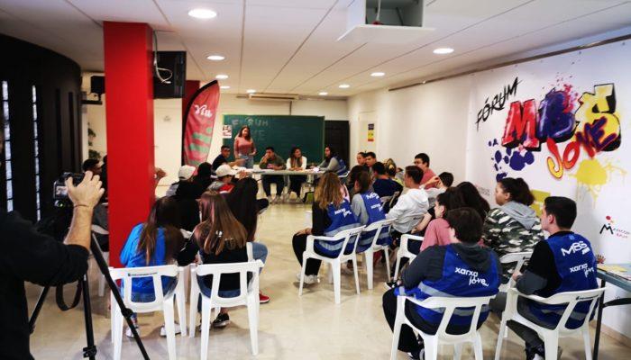Más De 100 Jóvenes De Los Municipios De La Mancomunidad Bajo Segura Participan En El Fórum Jove